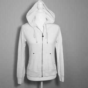 White Hoodie Jacket